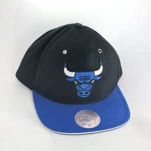 MITCHELL & NESS Chicago Bulls Blue Snapback Hat